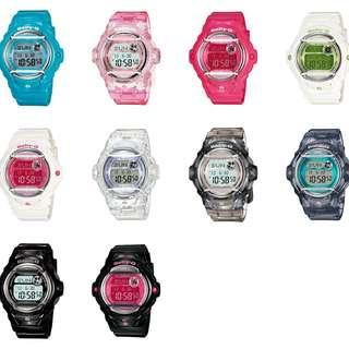 深水步有門市 全新原裝正版正貨有保養有單 Casio 手錶 baby-g BG-169R