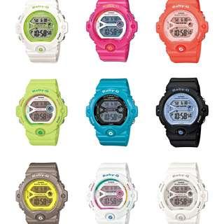 深水步有門市 全新原裝正版正貨有保養有單 Casio 手錶 BABY-G 最新 BG-6903-1D