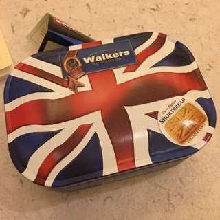 英國代號 國旗馬口鐵盒餅乾