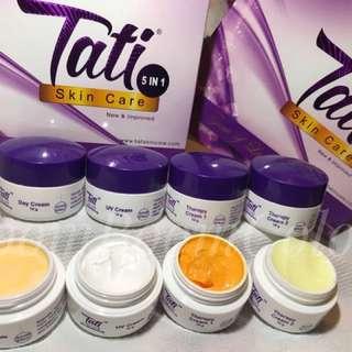 💯% original Skincare 5 in 1 set tati