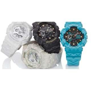 深水步有門市 全新原裝正版正貨有保養有單 Casio 手錶 BABY-G BA-110TP-1A,2a,7a,8a
