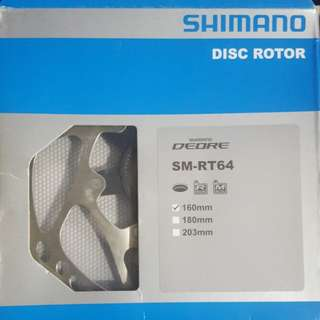 Shimano disc brake roto deore SLX SM-RT64 160mm and 180mm