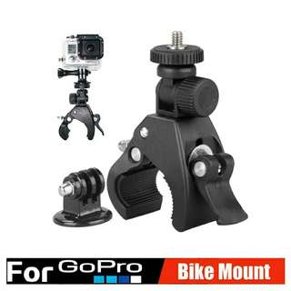 🆕🆒 Gopro Digital Camera Handlebar Mount ✔ Great For Motorcycle, Bicycle And Scooter Handlebars To Mount Actioncam Or Video 📹 Recording Device