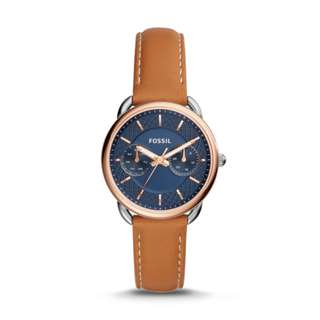 FOSSIL Multifunction Ladies Watch with Leather Strap ES4257 (Fixed Price)