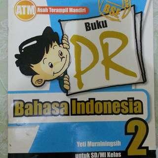 Buku PR Bhs Indo kelas 2
