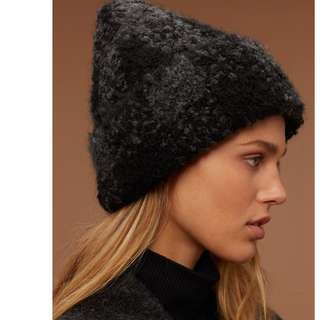 *NEW WITH TAGS* Aritzia Wilfred Free Wool Hat