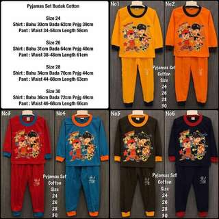 Kids Pyjamas Unisex  *OFFER*