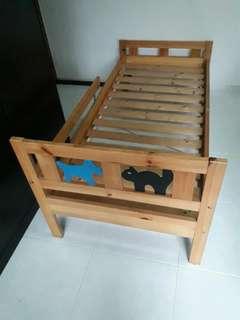 IKEA Kritter children's bed (pine)