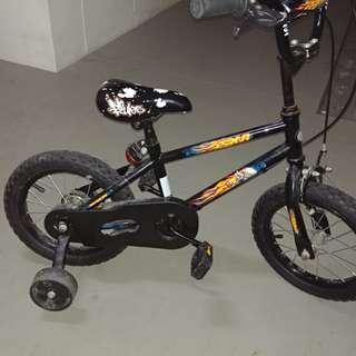 SALE Kid's Bike with training wheels