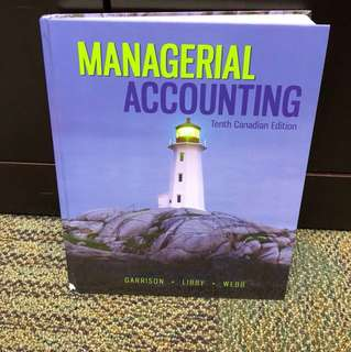 Accounting 322 - Managerial Accounting