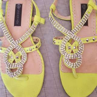 Forever New Sandals Shoes Sz6 37
