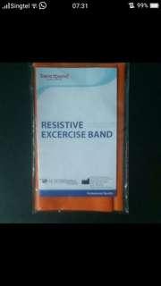 Sanctband Orange Resistive Exercise Band