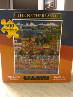 The Netherlands 500 piece puzzle