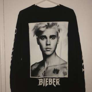 Justin Bieber Purpose Tour Long Sleeve Merch