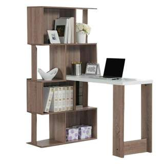 Office desk oak colour