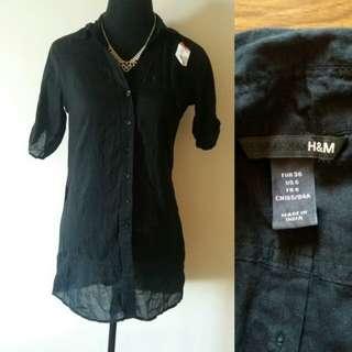 H&M Black Polo