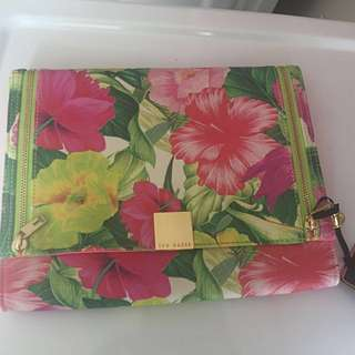 Ted Baker Floral Clutch