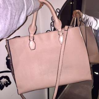 Beige big bag (two way)