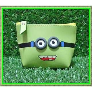 Minion Face Pouch Bag