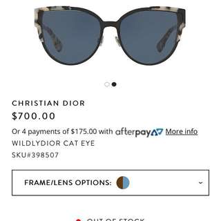 Dior wildly sunglass