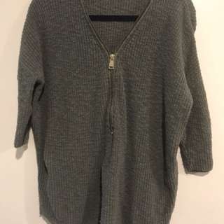 Express Zip Up Sweater - Size Medium