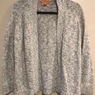 Size Medium - Open Knit Cardigan