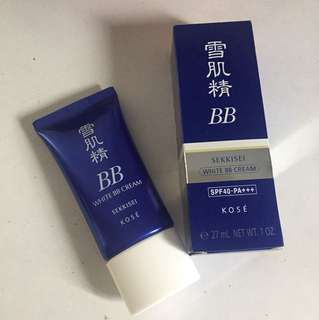 Sekkisei white BB cream 01