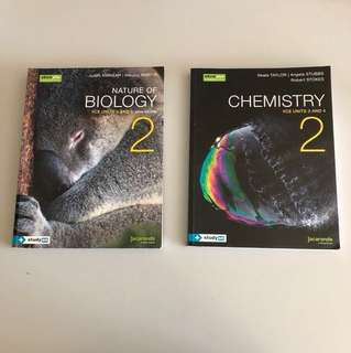 Chemistry and Biology Unit 3&4 Textbook Jacaranda