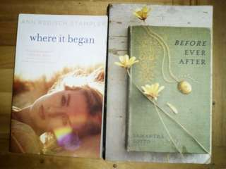 2 Fiction Books (Where it began/Before ever after) repriced!!