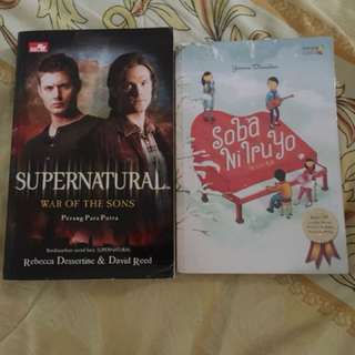 Supernatural and Soba Ni Iruyo