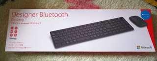 Microsoft 微軟 Designer Bluetooth Desktop 可用在 IMAC 設計師藍牙 鍵盤 滑鼠 組合 日版 正貨