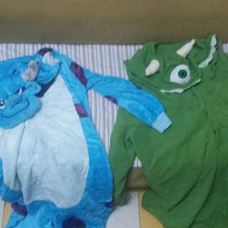 Sully & Mike Onesie Costume