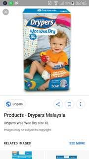 Pampers XL Drypers