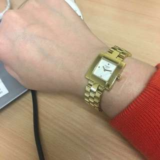 Genuine Tissot Gold Square