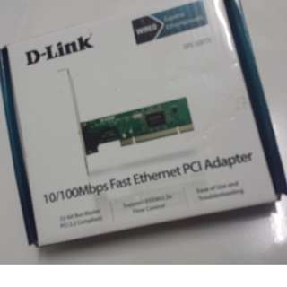 D-Link DFE-520TX 10/100Mbps Fast Ethernet PCI Adapter