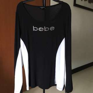 Preloved Bebe long sleeve shirt