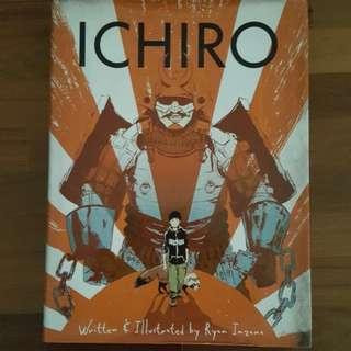 Ichiro by Ryan Inzana hardcover