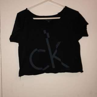 Calvin Klein Jeans Crop Top