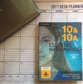 Cambridge Essential Mathematics 10 &10A