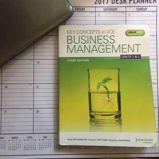 Jacaranda VCE Business Management 1 & 2