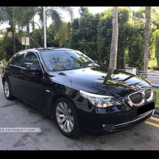 Bmw 525i XL for uber grab