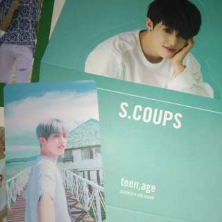[WTT] 'TEEN AGE' Green Version (Scoups standee and pc)