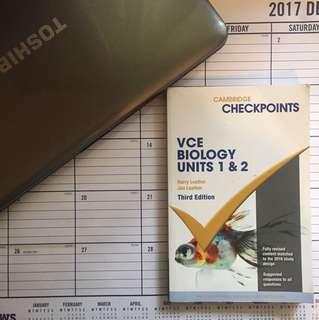 Cambridge Checkpoints VCE Biology Units 1 & 2