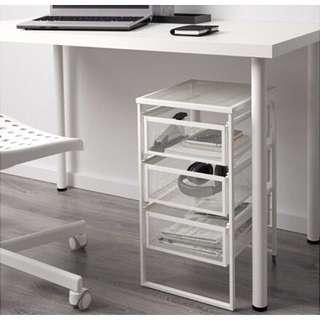 IKEA Lennart Drawer Unit -White