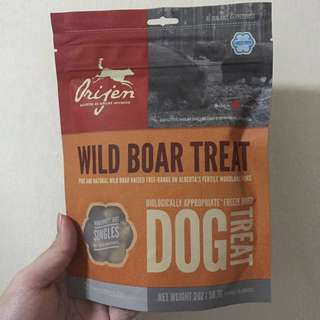 Orijen Freeze Dried Wild Boar Treats