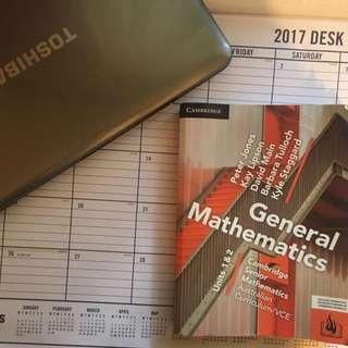 Cambridge VCE General Maths Units 1 & 2