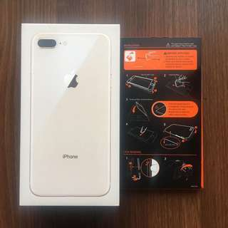 New Iphone 8 Plus 256 GB Gold