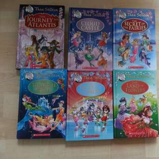 Thea Stilton - Set Of 6 Books