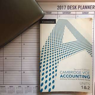 Cambridge VCE Accounting Units 1 & 2