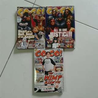 COCO Singapore first kid comics magazine